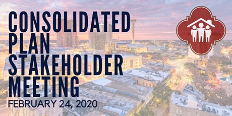 FY 2021-2025 Consolidated Plan Stakeholder Kick-Off Meeting tickets