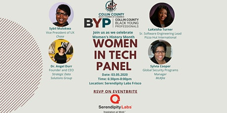 Collin County Black Young Professionals Women In Tech Panel tickets