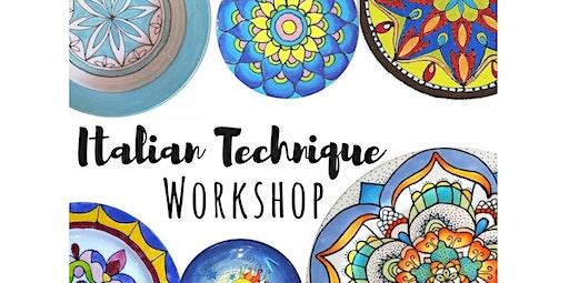 Italian Painting Workshop... (02-28-2020 starts at 5:00 PM)