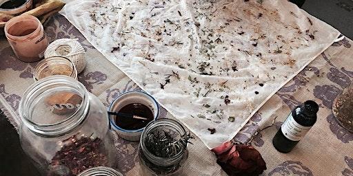 Flower Dyeing/Botanical Alchemy Workshop: A Ceremony of Creativity