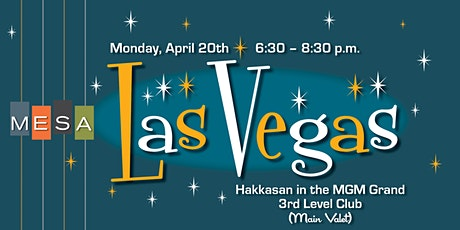 MESA Las Vegas (Member Reception @ NAB 2020) tickets