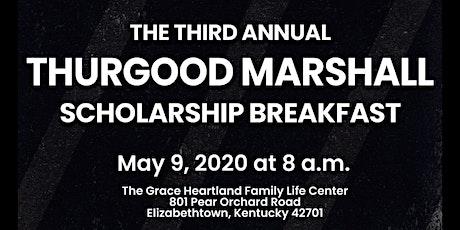 3rd Annual Thurgood Marshall Scholarship Breakfast tickets