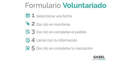 Voluntariado en Campañas Concientizados (Ecoins) tickets