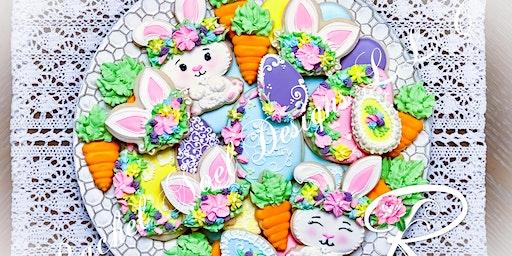 Boho Bunny Cookie Class
