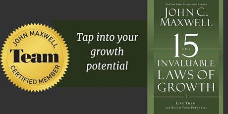 15 Invaluable Laws of Growth Mastermind tickets