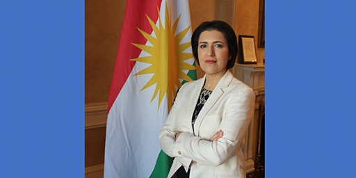 Kurdistan Regional Govt Rep to the US Bayan Sami Abdul Rahman