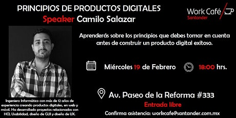 Principios de productos digitales boletos