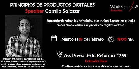 Principios de productos digitales entradas