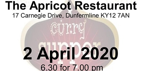 Curry & Quiz - Apricot Restaurant (Carnegie Rotary) tickets