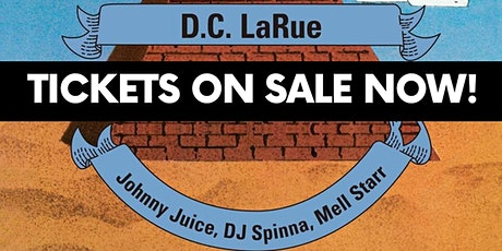 Mobile Mondays! Pyramid Disco -D.C. LaRue, Spinna, Mell Starr,Johnny Juice tickets