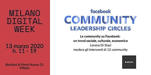Community Leadership Circle @ Milano Digital Week