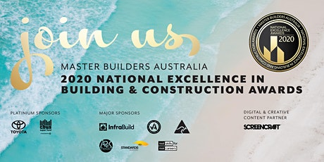 2020 National Excellence in Building & Construction Awards tickets