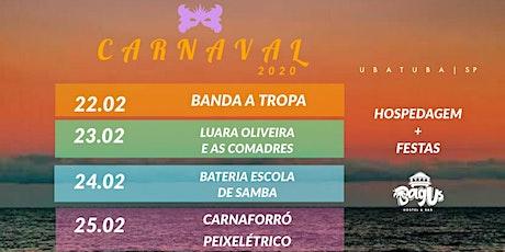 Carnaval Bagus 2020 | Pacote para 5 festas ingressos
