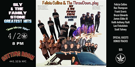 Felicia Collins and The Throw Down Play tickets