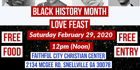 Black History Month Love Feast tickets