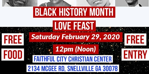 Black History Month Love Feast