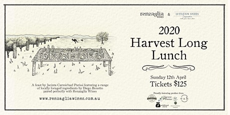 2020 Harvest Long Lunch tickets