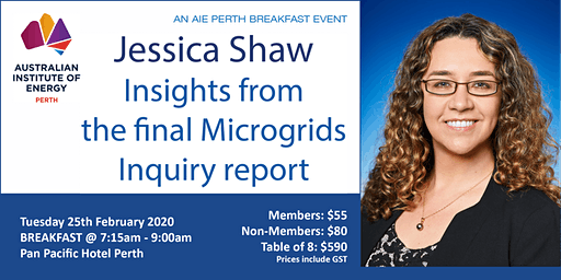 Jessica Shaw:  Insights from the final Microgrids Inquiry report
