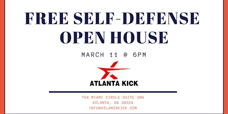 Free Self Defense Open House tickets