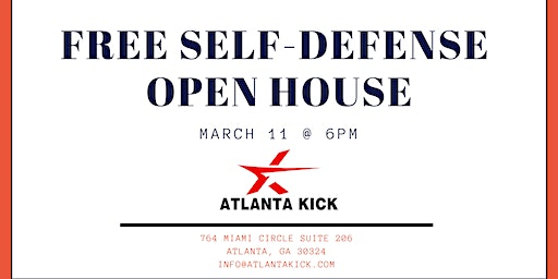Free Self Defense Open House