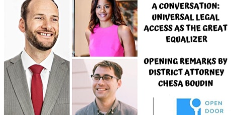 A Conversation: Legal Access as the Great Equalizer tickets