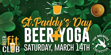 St. Paddy's Day Beer + Yoga tickets