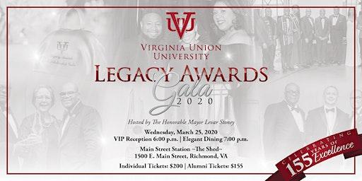Virginia Union University 2020 Legacy Awards and Scholarship Gala