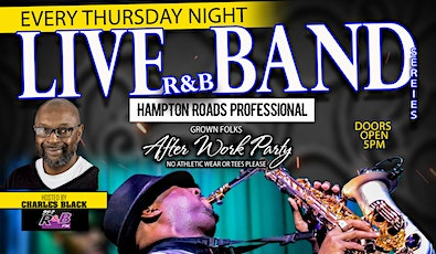 "R&B Thursdays - ""The Live Band Series"" @ The Ultra lounge tickets"