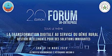 20ème édition Forum GR-ENTREPRISES tickets