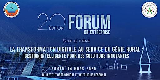 20ème édition Forum GR-ENTREPRISES