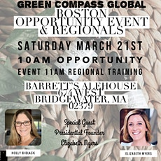 March Green Compass BOSTON REGIONAL tickets