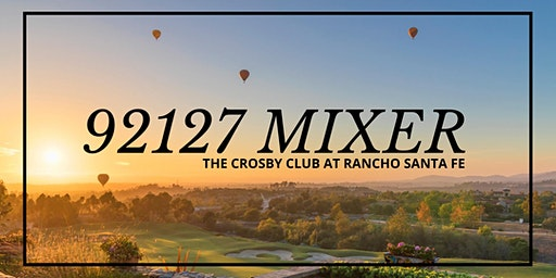 92127 Mixer at The Crosby Club at Rancho Santa Fe