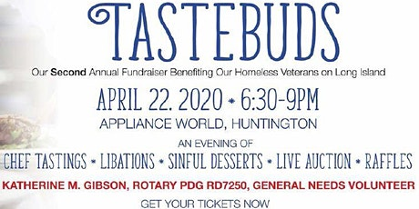 TasteBuds 2: A General Needs Ltd. Annual Fundraiser for Homeless Veterans and Veterans in Need tickets