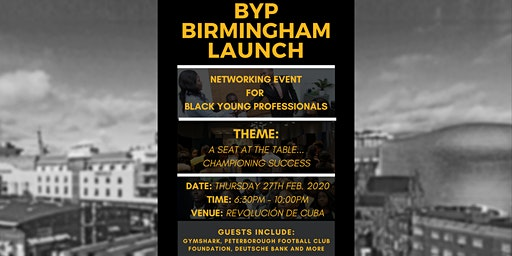 BYP Birmingham Launch