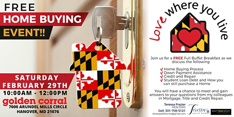 LOVE Where You LIVE  - Home Buying Event tickets