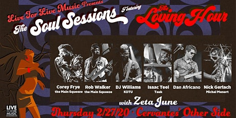 The Loving Hour ft. Members of The Main Squeeze, TAUK, KDTU w/ Zeta June tickets