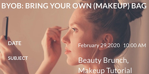 Beauty Brunch! Makeup class for people ages  35+
