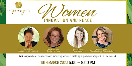 Women, Innovation and Peace tickets
