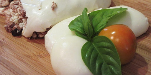 MOZZARELLA & BURRATA Cheese Making-Sunday Night East Side - 2 Cheeses in 2 hrs.