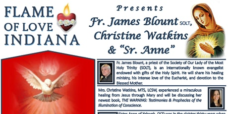 Flame of Love of the Immaculate Heart of Mary - Indiana  tickets