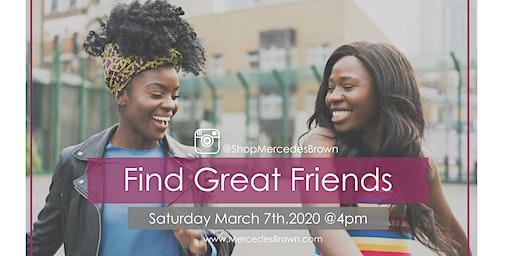 Find Great Friends