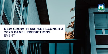 New Growth Market Launch & 2020 Panel Predictions Event tickets