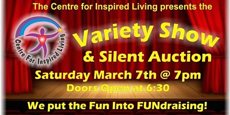 Variety Show and Silent Auction tickets
