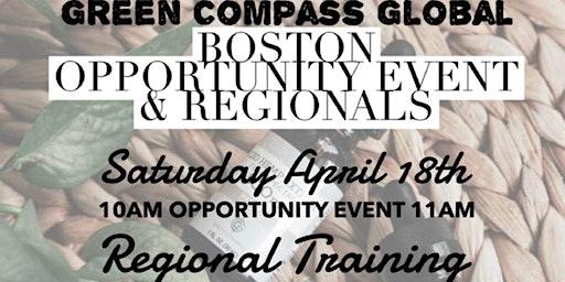 APRIL Green Compass BOSTON REGIONAL