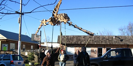 Giant Parade Puppets from Recycled Materials: a LEAF festival workshop