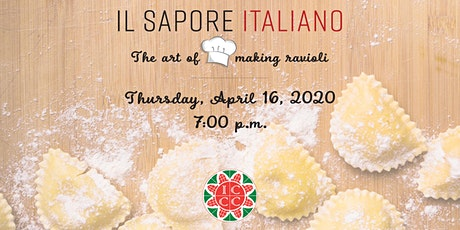 Il Sapore Italiano - The Art of Making Ravioli (Cooking Class) tickets