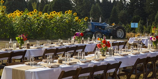 Dinner in the Field at Lee Farms w/  WillaKenzie Estate