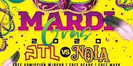 #1 MADI GRAS PARTY IN ATL! ATL vs NOLA! Tuesday Feb. 25th @ Escobar! RSVP tickets