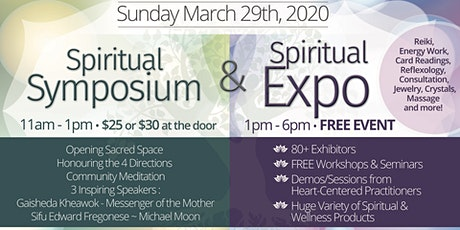 Burlington Spiritual Symposium & Expo 2020 tickets