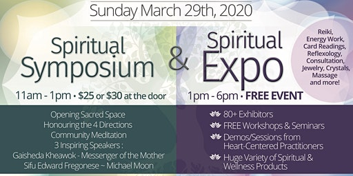 Burlington Spiritual Symposium & Expo 2020